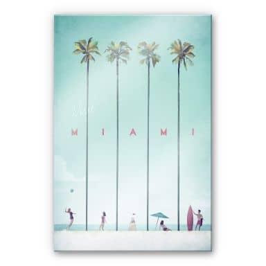 Acrylglasbild Rivers - Miami