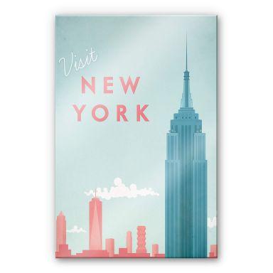 Acrylic Print Rivers - New York