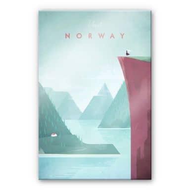 Acrylglasbild Rivers - Norwegen
