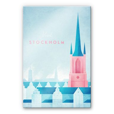 Acrylic Glass Rivers - Stockholm