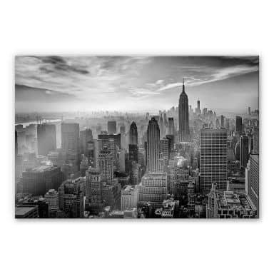 Acrylglasbild Schilbe - Hazy Gotham