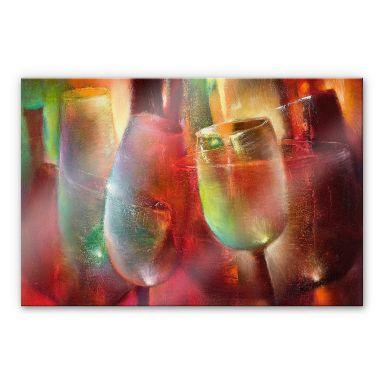 Acrylglasbild Schmucker - Zu später Stunde 02