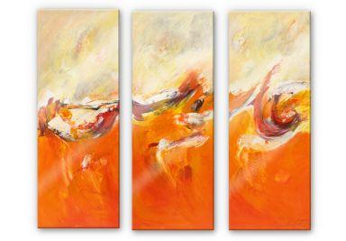 Acrylglasbild Schüßler - The Journey (3-teilig)