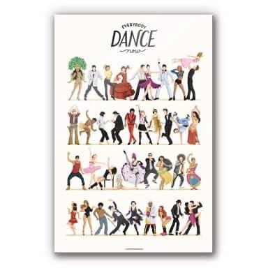 Acrylglasbild Tohmé - Dance Final