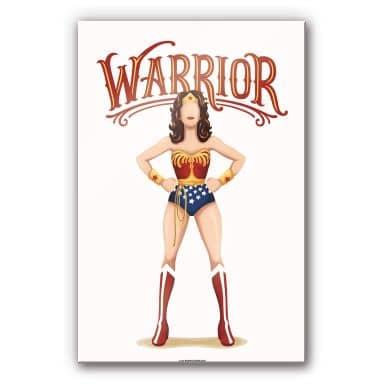 Acrylglasbild Tohmé - Wonderwoman