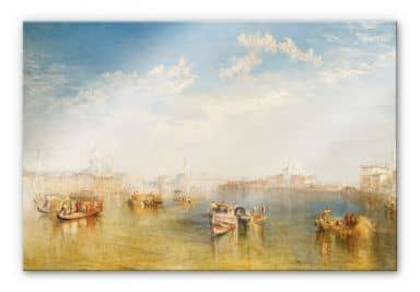 Acrylglasbild Turner - Giudecca, La Donna Della Salute und San Giorgio