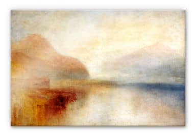 Acrylglasbild Turner - Monte Rosa