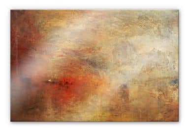 Turner - Sunset above sea - Acrylic glass