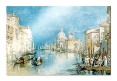 Acrylglasbild Turner - Venedig, Canale Grande