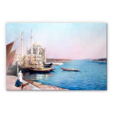Acrylglasbild Dellepiane - An den Ufern des Bosporus