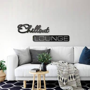 Acryldecoratie - Chill out Lounge