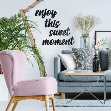 Acrylic Letters Enjoy this sweet moment