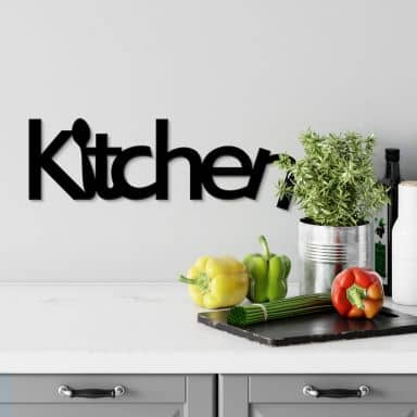 Scritta in acrilico - Kitchen