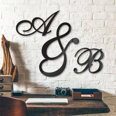 Lettere in acrilico  - Corsivo