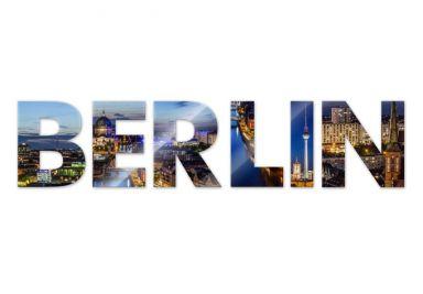 Scritta in acrilico - Berlin 02