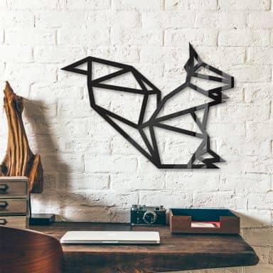Origami Squirrel – Acrylic Glass