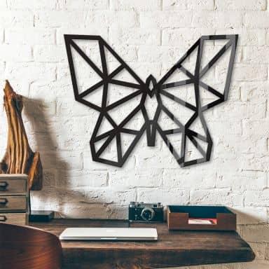 Decoro in acrilico origami - Farfalla