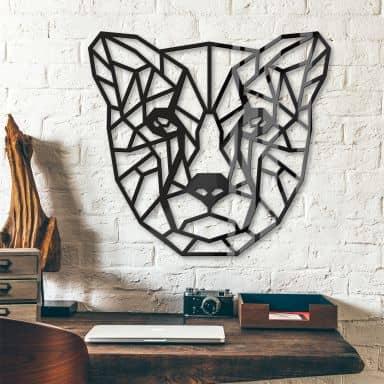 Décoration en verre acrylique - Guépard