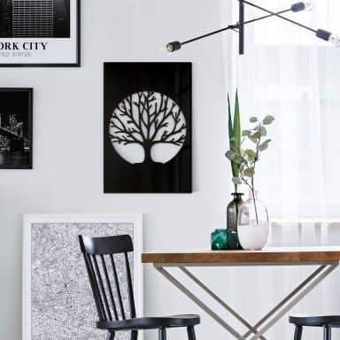 Dekobild Acrylglas - Baum des Lebens