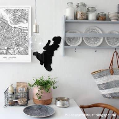 Acrylic Map - Benelux Map