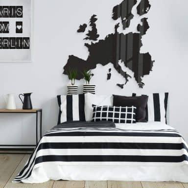 Acrylic Art - Map of Europe