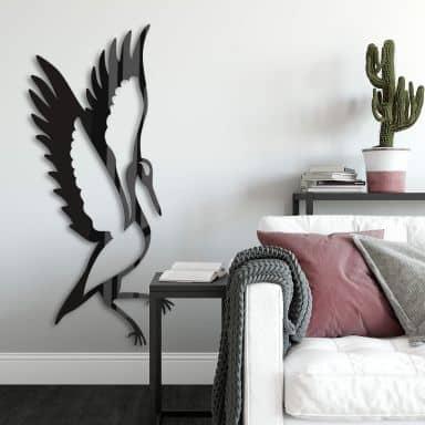 Acrylic Art - Bird