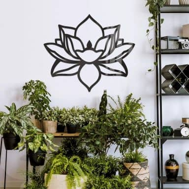Acryldeko Lotusblume