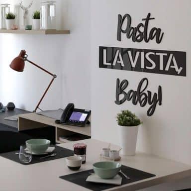 Acrylic Deko - Pasta La Vista, Baby