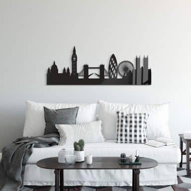 Acryldecoratie Skyline Londen