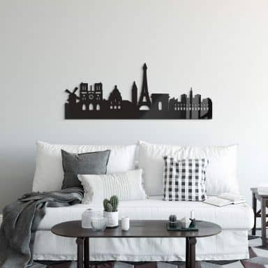 Acrylic Art - Skyline of Paris