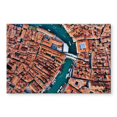 Acrylglasbild Colombo - Venedig von oben