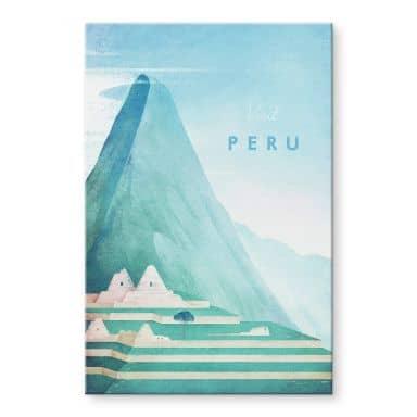 Tableau en verre acrylique Rivers - Pérou