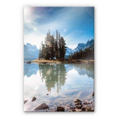 Acrylglasbild Colombo - Jasper-Nationalpark in Kanada