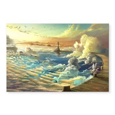 Acrylglasbild aerroscape - Am Ufer des Himmels