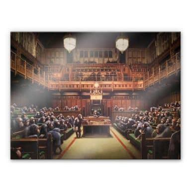 Acrylglasbild Banksy - Devolved Parliament