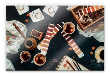 Acrylglasbild Belenko - Shades of Coffee