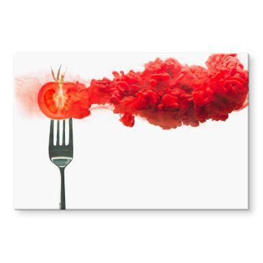 Acrylglasbild Belenko - Steamed Tomato
