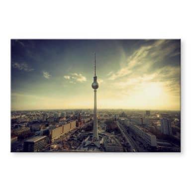 Acrylglasbild Berliner Fernsehturm Panorama