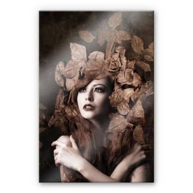 Acrylic Print Besari - Artemis Daughter of Zeus