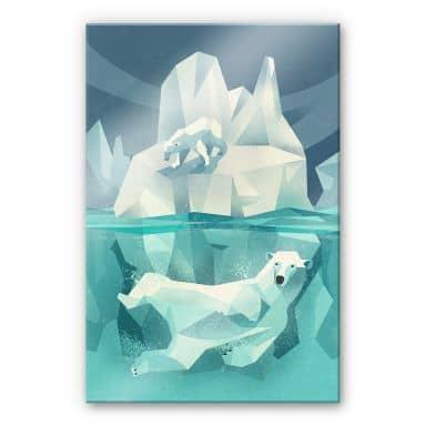 Acrylglas Braun - Ijsberen