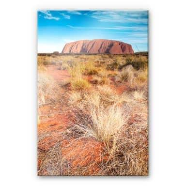 Acrylglasbild Colombo - Ayers Rock