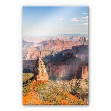 Acrylglasbild Colombo - Point Imperial im Grand Canyon