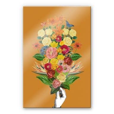 Acrylglasbild Feldmann - Botanical Yellow
