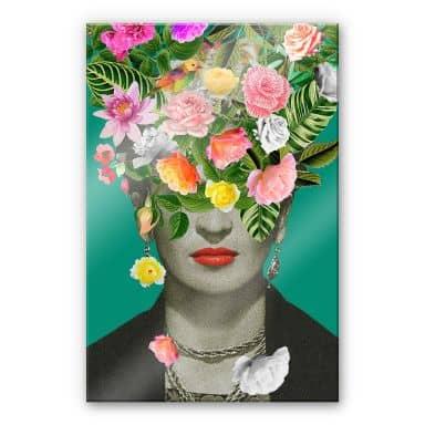 Acrylic Glass Feldmann - Frida Floral