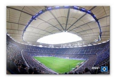 Acrylglasbild HSV Arena