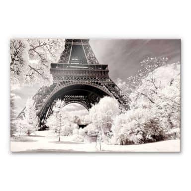 Acrylglasbild Hugonnard - Winterfeeling in Paris