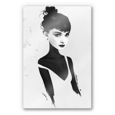 Acrylglasbild Ireland - Oh Audrey