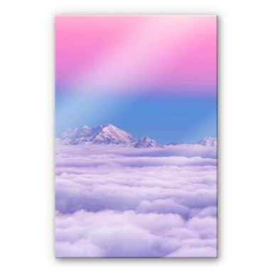 Acrylglasbild Krivec - Pink in the sky