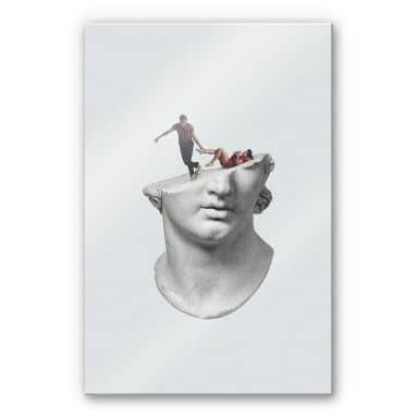 Acrylglasbild Léon - Get out of my head
