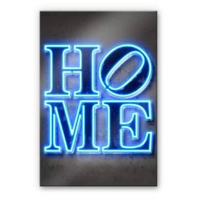 Acrylglasbild Mielu - Home